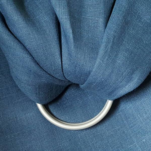 IL019   BLUE BONNET Softened - 100% Linen