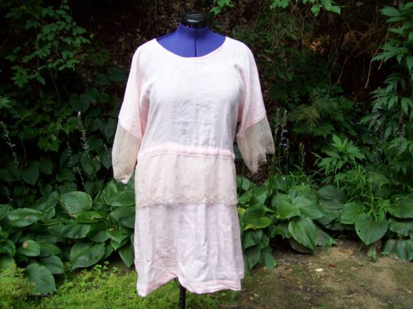 IL020   LIGHT PINK Softened - 100% Linen