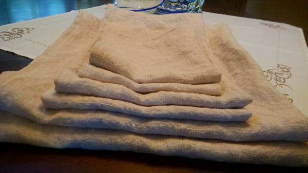 4C22   BISCOTTI Softened - 100% Linen