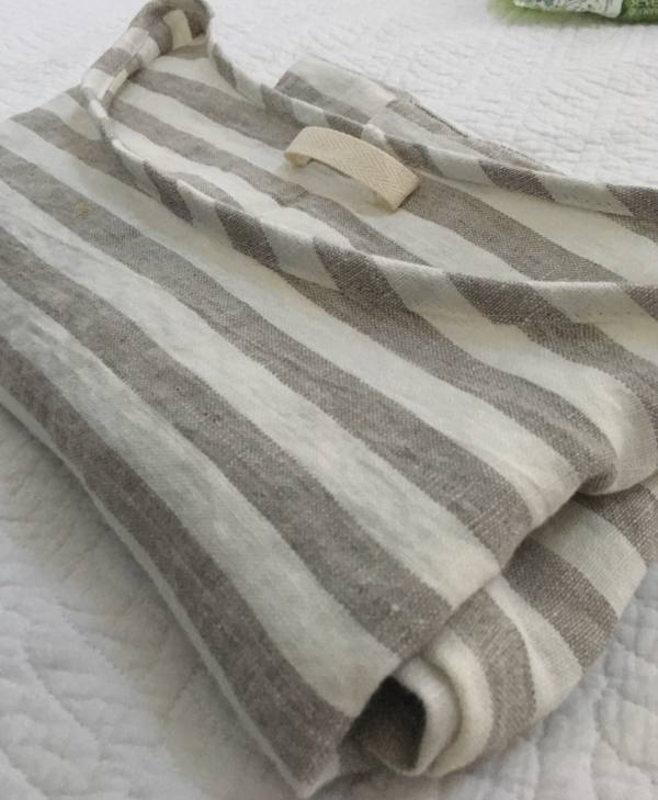IL044 876 STRIPES    - 100% Linen