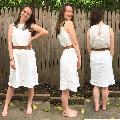 Mona — Trapeze Linen Dress Pattern