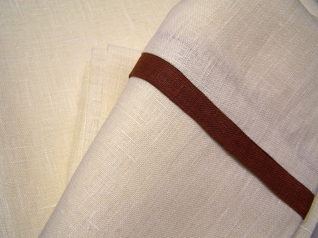 IL019   KRISTA NATURAL Softened - 100% Linen