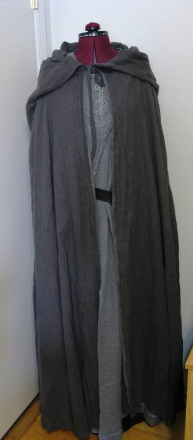 IL041   GRAY SPARROW Softened - 100% Linen