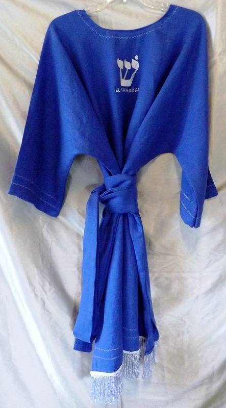 IL019   ROYAL BLUE Softened - 100% Linen