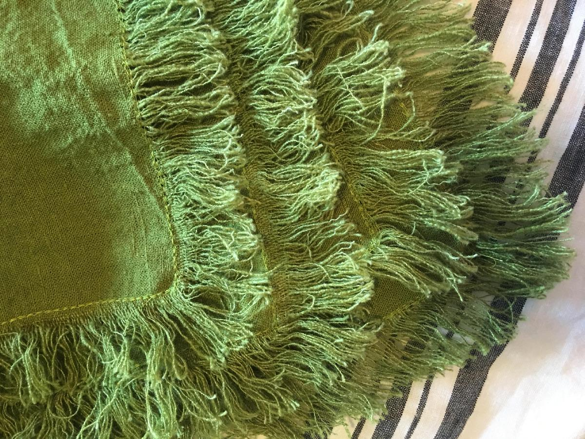 4C22   GREEN Softened - 100% Linen