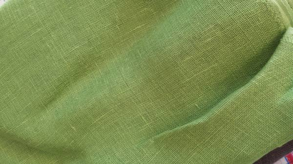 IL041   GREEN LAWN Softened - 100% Linen