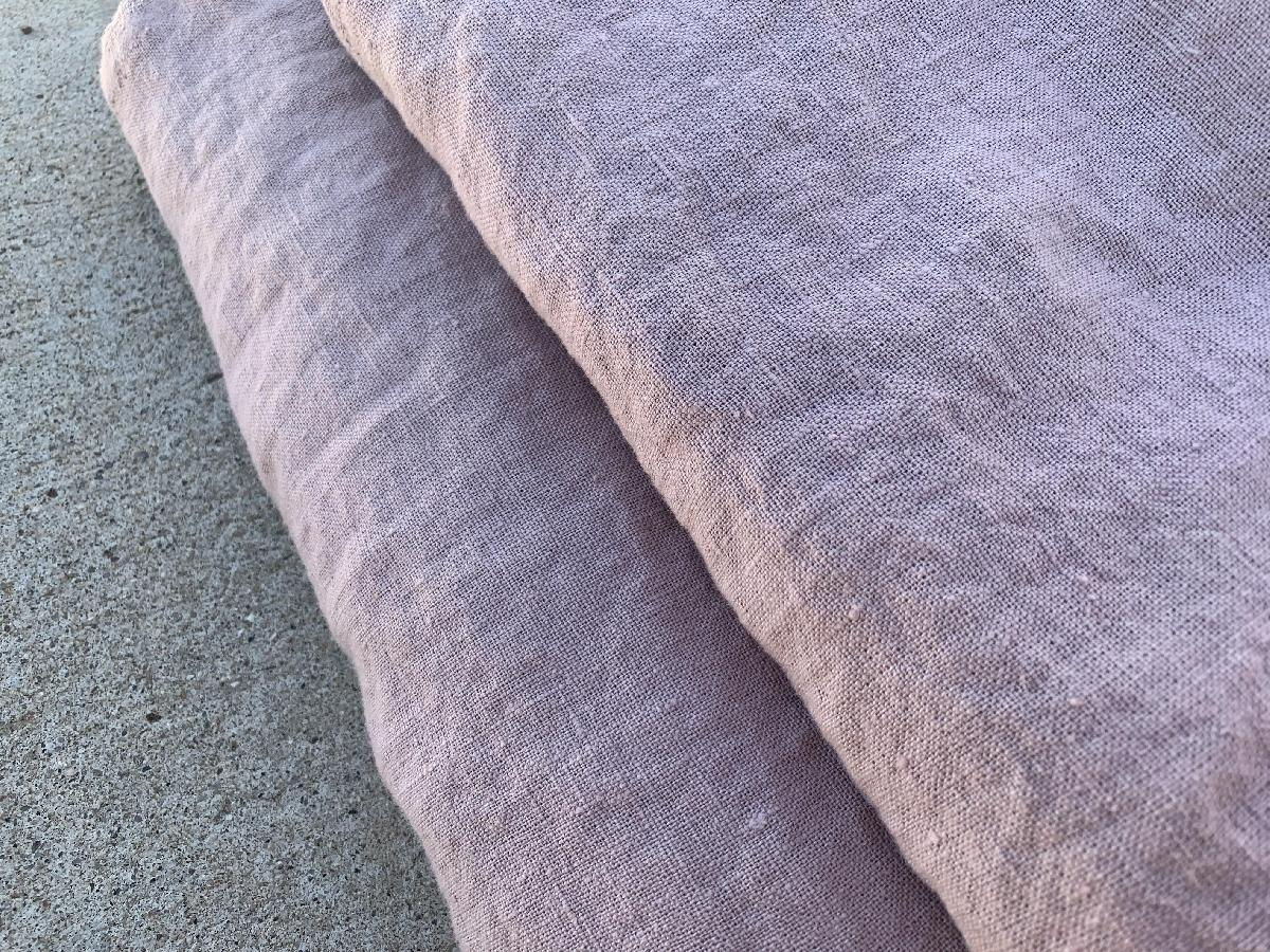 4C22   SHADOW GREY Softened - 100% Linen