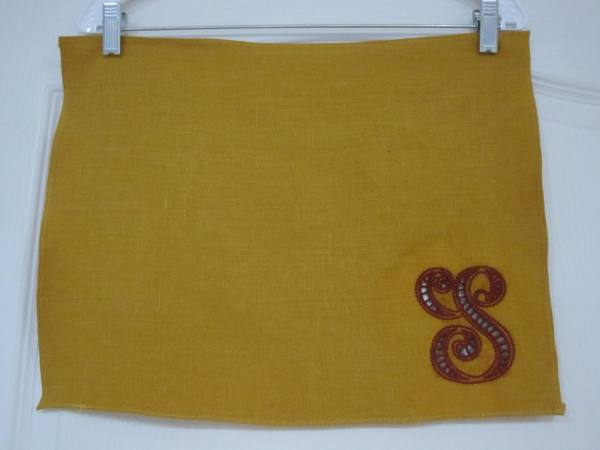 4C22   AUTUMN GOLD Softened - 100% Linen