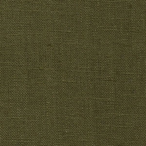 IL019   OLIVE Softened - 100% Linen - Middle (5.3 oz/yd<sup>2</sup>)