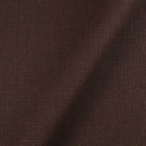 4C22   CHOCOLATE Softened - 100% Linen - Heavy (7.1 oz/yd<sup>2</sup>) - 20.00  Yards