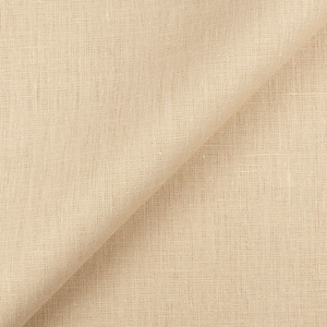 4C22 100% Linen fabric DUNE -  Softened