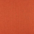 4C22 100% Linen fabric MECCA ORANGE -  Softened