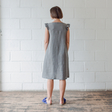 Leena  — Linen Sleeve Dress