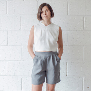 Jules — Pleated Shorts Pattern