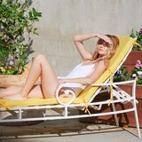 Vita Linen Pool Lounger