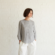 Anca — High Low Hem Linen Shirt Pattern