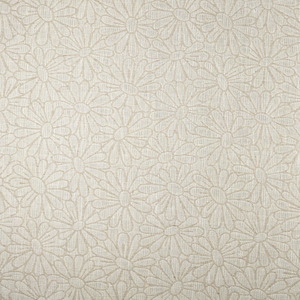 IL002 DAISY FIELD  IVORY-NATURAL  - 100% Linen - Canvas (10 oz/yd<sup>2</sup>)