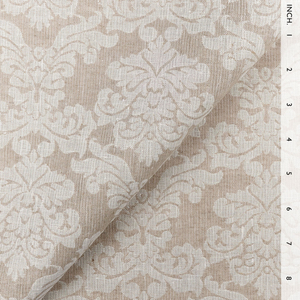 IL002 ROYAL CREST  IVORY-NATURAL  - 100% Linen - Canvas (10 oz/yd<sup>2</sup>)
