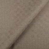 IL007 THATCH CHECKER  LIGHT TAUPE  - 100% Linen - Middle (6.7 oz/yd<sup>2</sup>)