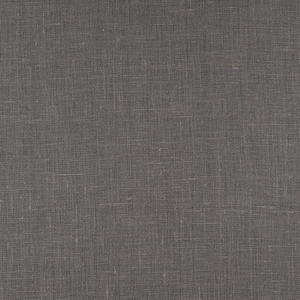 IL019 100% Linen fabric ASPHALT Softened