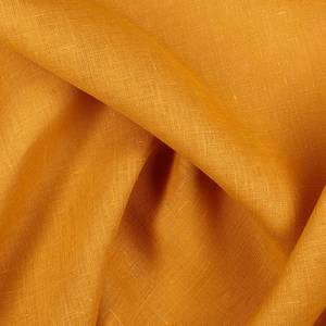 IL019   AUTUMN GOLD Softened - 100% Linen - Middle (5.3 oz/yd<sup>2</sup>) - 0.70  Yard