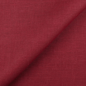 IL019   BIKING RED Softened - 100% Linen - Middle (5.3 oz/yd<sup>2</sup>) - 20.00  Yards