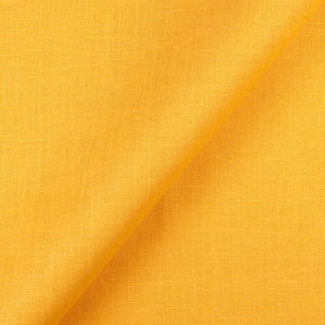 IL019   EGYPTIAN YELLOW Softened - 100% Linen - Middle (5.3 oz/yd<sup>2</sup>)