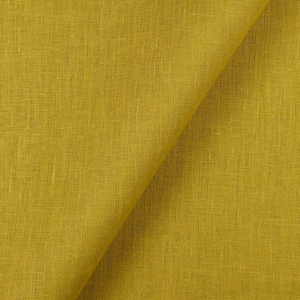 IL019   GOLDEN OLIVE Softened - 100% Linen - Middle (5.3 oz/yd<sup>2</sup>)