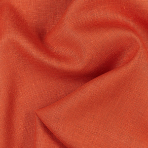 IL019   MECCA ORANGE Softened - 100% Linen - Middle (5.3 oz/yd<sup>2</sup>)