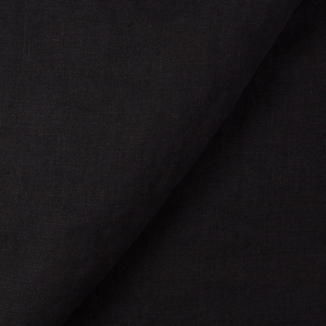 IL019   BLACK FS Signature Finish - 100% Linen - Middle (5.3 oz/yd<sup>2</sup>)