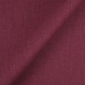 IL019 100% Linen fabric TAWNY PORT -  Softened