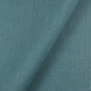 IL019   TURQUOISE Softened - 100% Linen - Middle (5.3 oz/yd<sup>2</sup>)