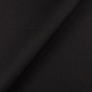 IL020   BLACK Softened - 100% Linen - Light (3.5 oz/yd<sup>2</sup>) - 20.00  Yards