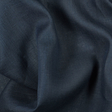 IL020 100% Linen fabric COBALT -  Softened