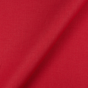 IL020   FIRECRACKER RED Softened - 100% Linen - Light (3.5 oz/yd<sup>2</sup>)