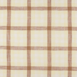 IL022 828 PLAID   Softened - 100% Linen - Light (3.5 oz/yd<sup>2</sup>)