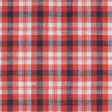 IL022 832 PLAID   Softened - 100% Linen - Light (3.5 oz/yd<sup>2</sup>)
