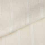 SO IL026 GAUZE STRIPES    - 100% Linen - Sheer (2.5 oz/yd<sup>2</sup>)