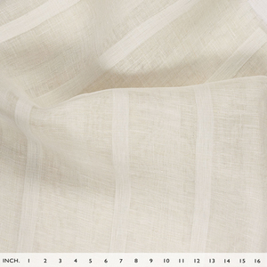 IL026 GAUZE STRIPES    - 100% Linen - Sheer (2.5 oz/yd<sup>2</sup>) - 20.00  Yards