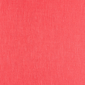 IL030   DEEP SEA CORAL Softened - 100% Linen - Sheer (2.8 oz/yd<sup>2</sup>) - 0.30  Yard