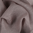 IL030 100% Linen fabric GREY -  Softened