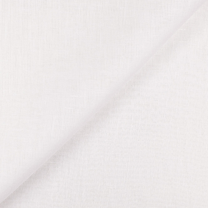 IL030 100% Linen fabric OPTIC WHITE -  Softened