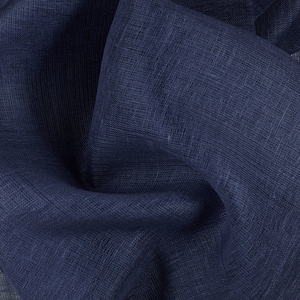 IL030   VINTAGE INDIGO Softened - 100% Linen - Sheer (2.8 oz/yd<sup>2</sup>) - 20.00  Yards