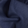 IL030 100% Linen fabric VINTAGE INDIGO -  Softened
