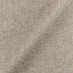 IL037   NATURAL  - 100% Linen - Middle (6.3 oz/yd<sup>2</sup>) - 1.00  Yard