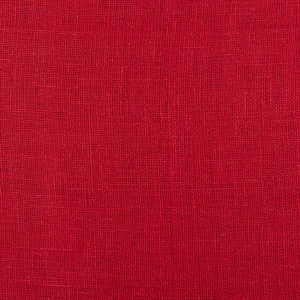 IL041 100% Linen fabric POINSETTIA -  Softened