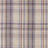 IL045 861 PLAID    - 100% Linen - Middle (5.3 oz/yd<sup>2</sup>)