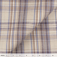 IL045 861 PLAID    - 100% Linen - Middle (5.3 oz/yd<sup>2</sup>) - 20.00  Yards