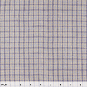 IL045 867 GINGHAM    - 100% Linen - Middle (5.3 oz/yd<sup>2</sup>) - 20.00  Yards