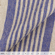 IL073 947 ROYAL THIN STRIP    - 100% Linen - Canvas (9.1 oz/yd<sup>2</sup>) - 20.00  Yards